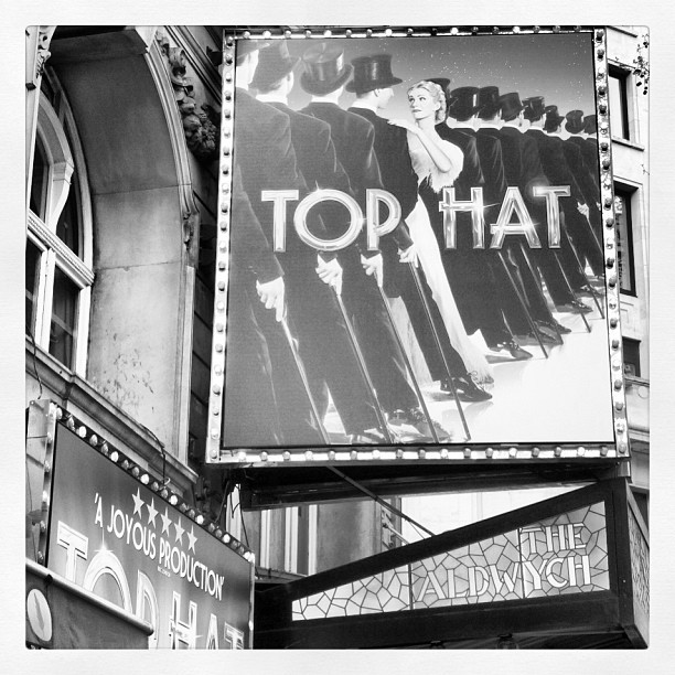 TOP HAT at Aldwych Theatre