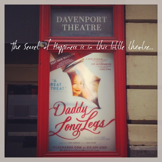 Daddy Long Legs at Davenport Theatre