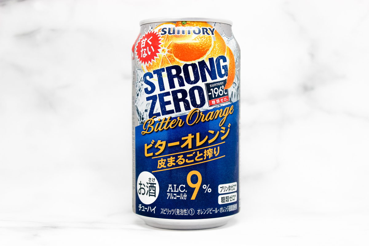 本当に美味しいの?ストロングゼロ ビターオレンジを徹底解説!|theDANN media