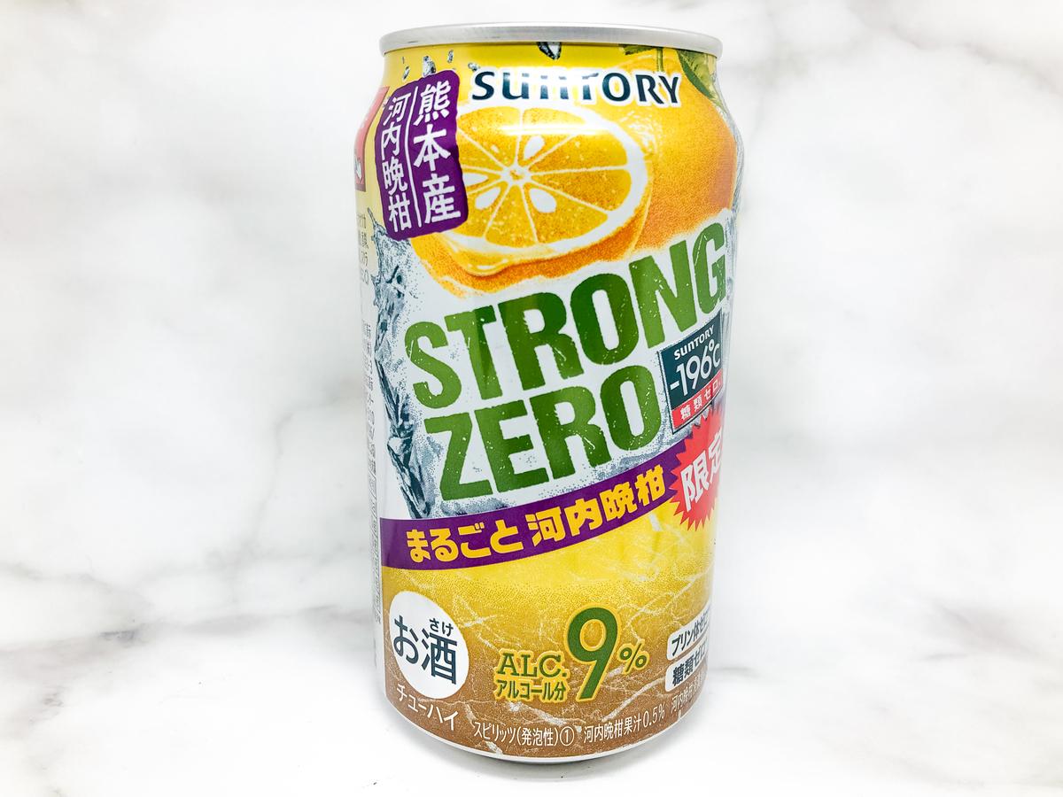 第17位 ストロングゼロ まるごと河内晩柑|theDANN media