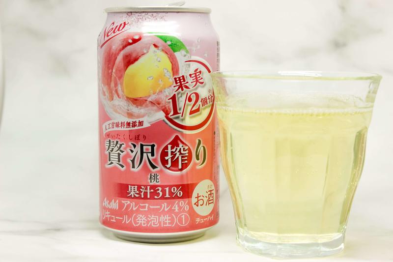 アサヒ贅沢搾り桃の味は?|theDANN media