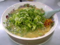 天下一品二条店・こってりラーメン・レギュラー麺・ニンニク入り・ネ