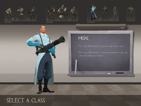 Team Fortress 2 キャラクタ選択