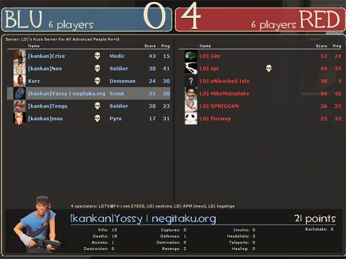2 試合目 - KOS.NGTK [0-4] LD (Well)