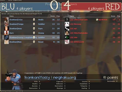 1 試合目 - KOS.NGTK [0-4] LD (Granary)
