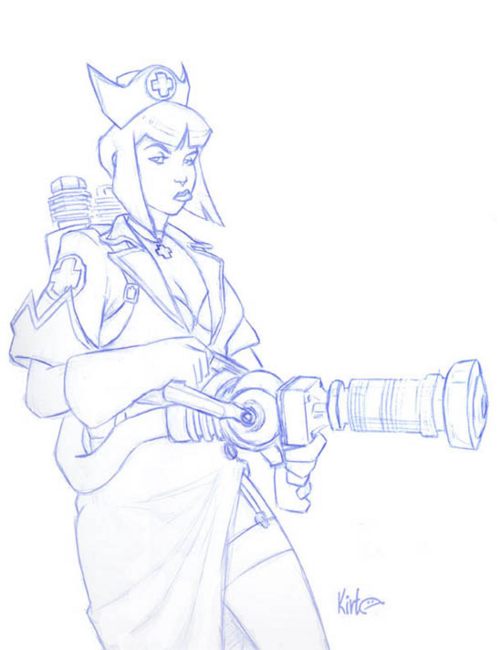 Team Fortress 2 female medic