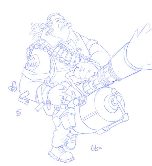 Team Fortress 2 female Heavy