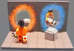 『Team Fortress 2』と『Portal』をレゴで再現