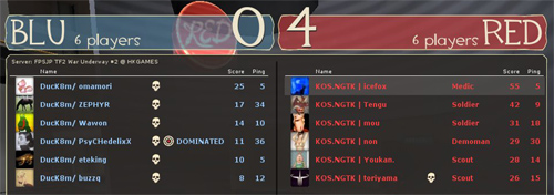 決勝 敗者側 Round 3 - KOS.NGTK [4-0] DucK8m (Well)
