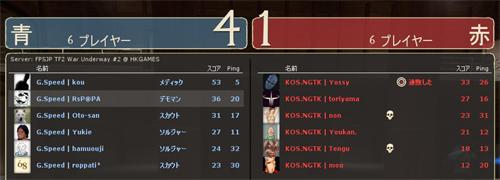 決勝 敗者側 Round 4 - KOS.NGTK [1-4] GoodSpeed (Granary)