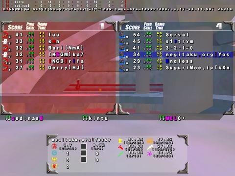 Quake3 ThreewaveCTF 1