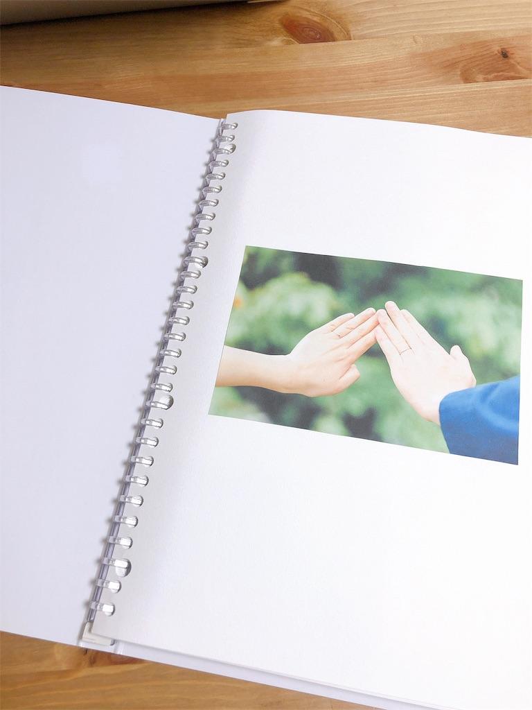 ブックレターの表紙の写真