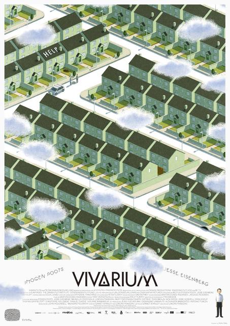 映画「ビバリウム」ポスター