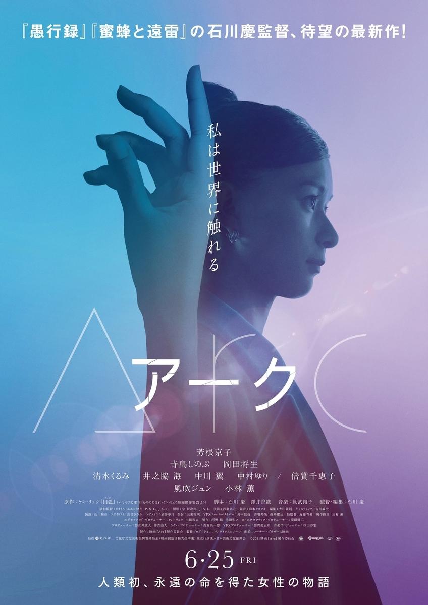 映画「Arc アーク」ポスター