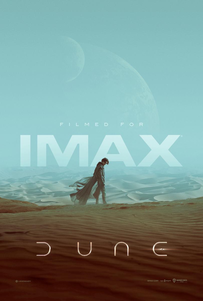 映画「DUNE/デューン 砂の惑星」IMAX版ポスター