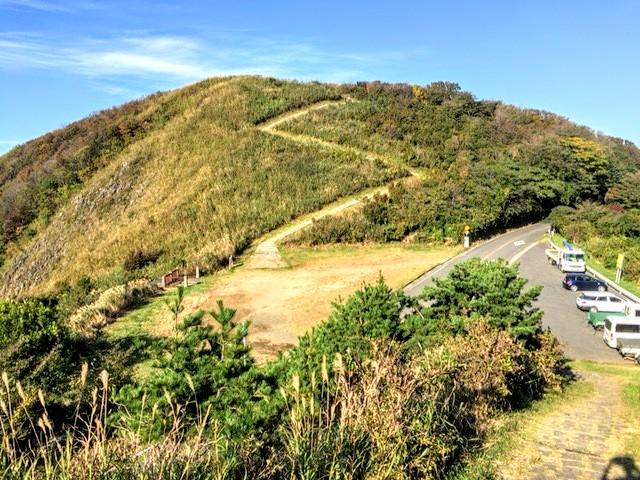 新潟県で人気の弥彦山からの風景