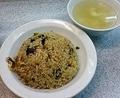 [渋谷][ラーメン][孤独のグルメ]パラパラってよりは油多めのこってりとした炒飯(750円)