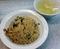 パラパラってよりは油多めのこってりとした炒飯(750円)