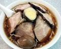 [渋谷][ラーメン][孤独のグルメ]チャーシュー麺大盛りにこの店ならではの味玉を追加、計1050円也