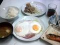 [山谷][定食・食堂][孤独のグルメ]1人前にしてはちょっと圧巻、どこかの食卓みたいです
