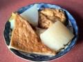 [石神井公園][カレー][おでん][ジュース]ダシがしっかり染み込んだ関西風おでん(500円)