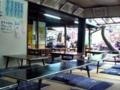 [石神井公園][カレー][おでん][ジュース]開放的な店内