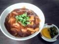 [石神井公園][カレー][おでん][ジュース]孤独のグルメでおなじみのカレー丼(750円)