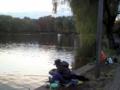 [石神井公園][カレー][おでん][ジュース]帰り際、さっきいなかった釣り人がログインしてた