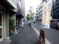 [御成門][新橋][ラーメン]落ち着いた感じの通り沿いにあるラーメンもぐや新橋店2