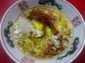 [神保町][ラーメン][チャーハン]昔ながらの鶏系醤油スープに細麺、まさにゴールデンコンビ!