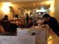 [麻布十番][洋食][カフェ・喫茶店]皆さん思い思いの時間を過ごしております