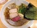 [銀座][ラーメン]鶏白湯とは違った意味で濃厚な煮干醤油SOBA大880円