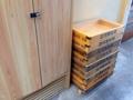 [銀座][ラーメン]老舗の三河屋製麺の木箱を見ることでちょっと一安心