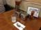 ここだけ見るとカレーを待ってる人のテーブルみたいです
