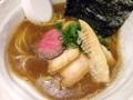 [銀座][ラーメン]ローストビーフと筍が嬉しい煮干醤油SOBA