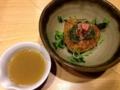 [銀座][ラーメン]気品すら感じさせる焼ごはん&ふき味噌&明太子300円
