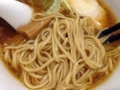 [西早稲田][ラーメン][つけ麺]見るからに滑らかと分かる中細麺