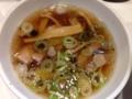 [新橋][ラーメン][つけ麺]油分は多めだけど透き通った醤油つけダレ