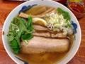 [有楽町][ラーメン][茶飯]大きめチャーシュー3枚!麺屋ひょっとこの和風柚子焼豚柳麺(900円)
