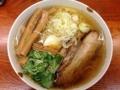 [有楽町][ラーメン][茶飯]チャーシュー増量、メンマも三つ葉も多めな和風柚子柳麺大盛(850円)