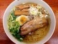 [有楽町][ラーメン][茶飯]650円の和風柳麺はこんなビジュアル