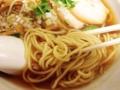 [新橋][ラーメン]三河屋製麺の中細ストレート麺