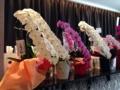 [赤坂][赤坂見附][溜池山王][永田町][ラーメン]店内にはこれまた高級な花々が飾られております