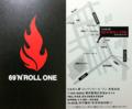 [赤坂][赤坂見附][溜池山王][永田町][ラーメン]らぁめん家 69'N'ROLL ONE 赤坂本店のショップカード