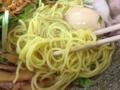 [神保町][ラーメン]並盛りでも200gの固茹でストレート麺