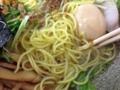 [神保町][ラーメン]麺に絡めてズビビンズビビン