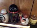 [西麻布][和食][定食・食堂]調味料は塩、醤油、七味唐辛子にカラシ…