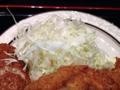 [西麻布][和食][定食・食堂]サッパリするよね、揚げ物の定番・千切りキャベツ