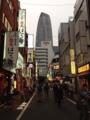 [新宿][和食][定食・食堂]終日、店の前を多くの人々が行き交います