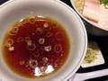 [赤坂][赤坂見附][溜池山王][永田町][ラーメン][つけ麺]比内地鶏ベースの温かいつけ汁